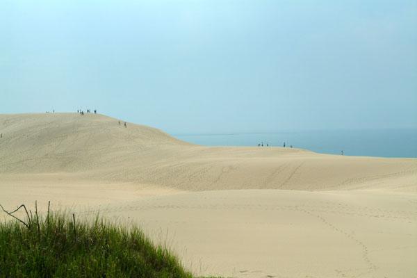 鳥取砂丘の眺め
