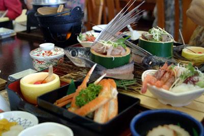 鳥取砂丘昼食