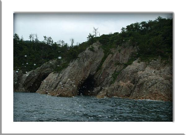 浦富海岸しぶき