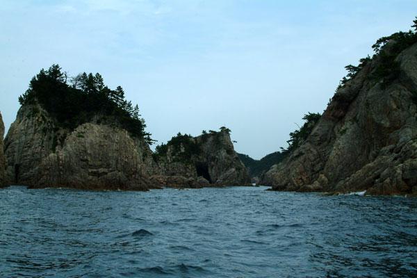 浦富海岸島1