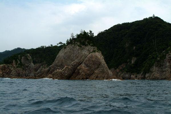 浦富海岸灯台