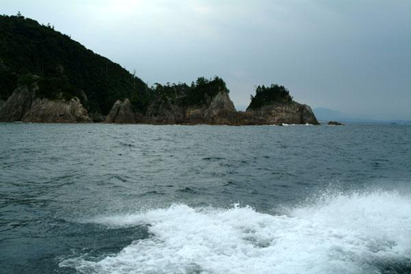 浦富海岸波