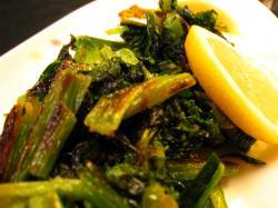 小松菜焼き
