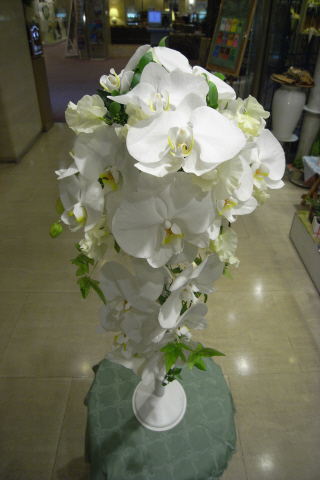 胡蝶蘭のブーケ