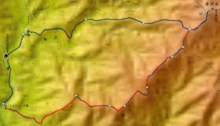 08.05/27 コース地図