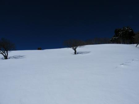 08 2/13 の 竜ヶ馬場からの景色