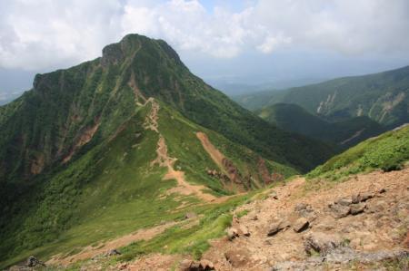 中岳 と 阿弥陀岳