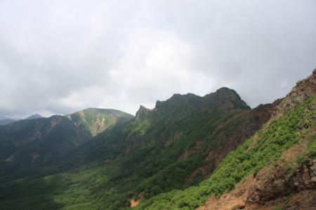 赤岩の頭・硫黄岳・横岳