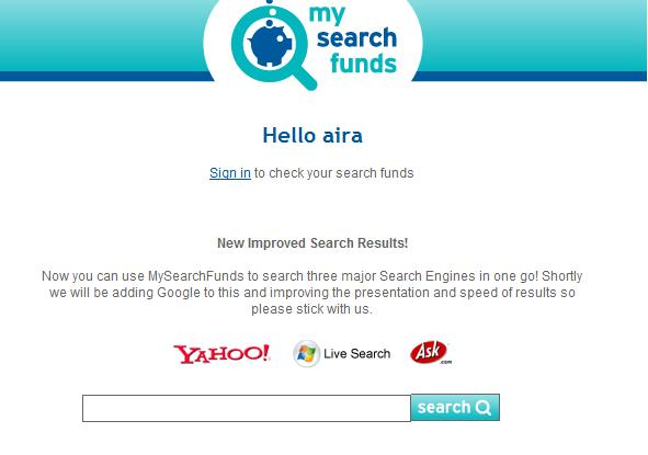 mysearch新検索窓 1