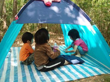 子供専用テント