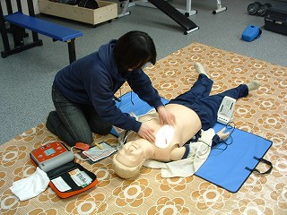 080319 AED講習中・・・