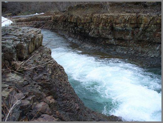 小滝の下流