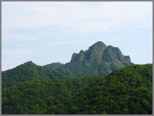 定山渓の山