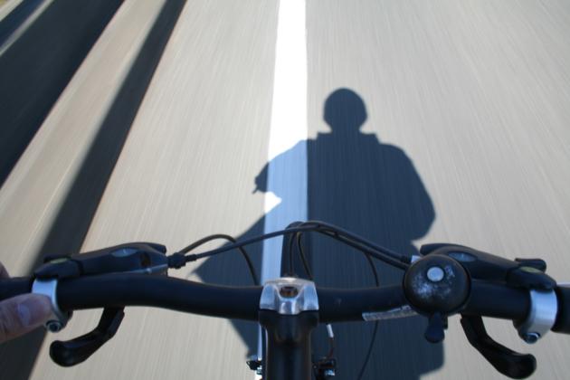 自転車こいで