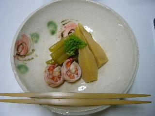 竹の子煮物