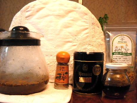 生姜入りシナモン紅茶