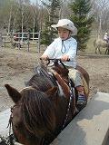 乗馬初体験