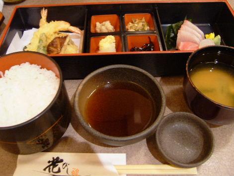 天ぷら・お造り