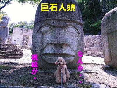 メキシコに行きました~巨石人頭~