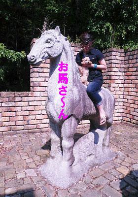 お馬さんに乗ったよ~