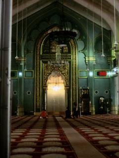 シンガポールの寺院にて