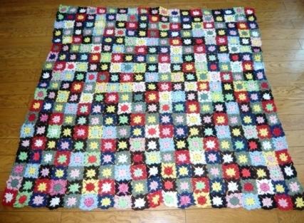 モチーフ編み大