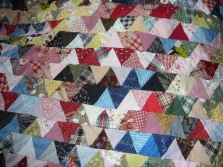 ベットカバー三角2
