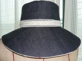 デニム帽子4
