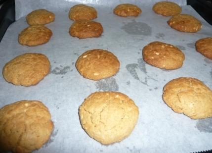 ピーナツクッキー
