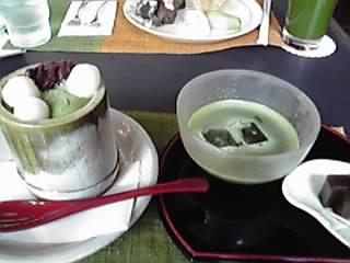 生茶ゼリイ&冷薄茶