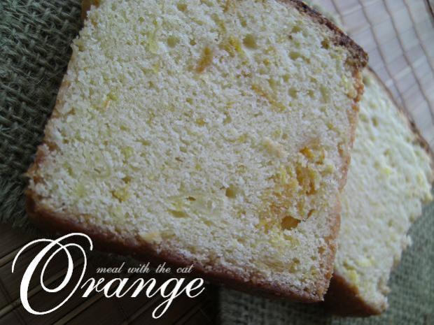 オレンジコンフィのバターケーキ