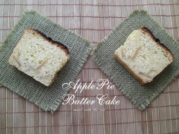 アップルパイ味バターケーキ★