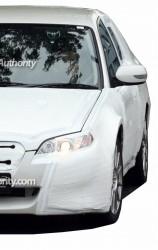 トヨタとスバルのFRスポーツカー開発車両の写真