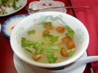 中華スープなめこ