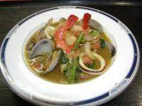 魚介スープカレー単