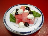 SPスイカのサラダ