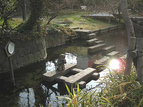☆松原川の河童