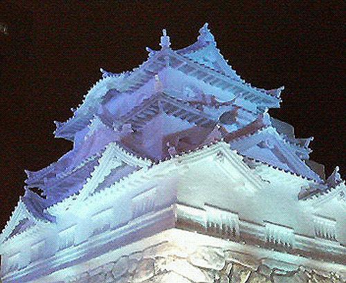 ☆雪像彦根城