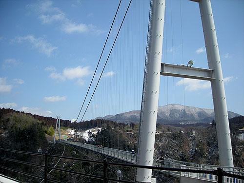 九重夢大吊橋冬