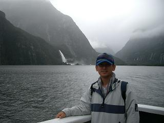 Milford Sound cruising水谷様