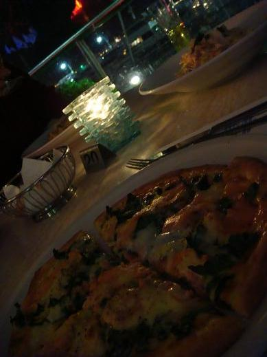 Portfinoのピザ