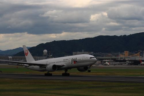 JAL B777-246 StarJet Procyon JL124@伊丹スカイパーク(by EF100-400)