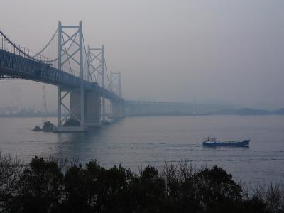坂出方面の景観@瀬戸中央道・与島SA(by IXY DIGITAL L3)
