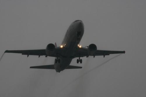 JEX B737-446 JC2209@エアフロントオアシス(by EF100-400)