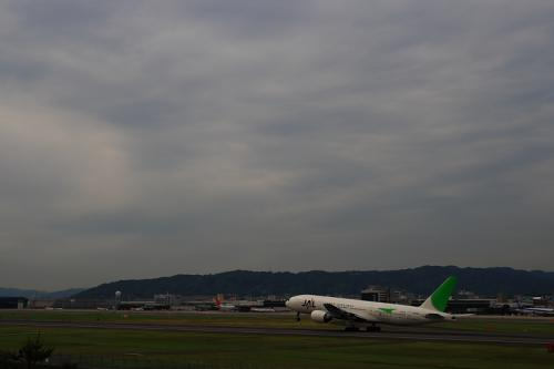 JAL B777-246 JL126@伊丹スカイパーク(by SIGMA 18-50)
