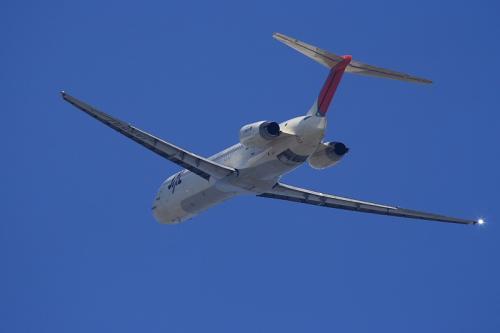 JEX MD-81 JC2385@猪名川土手(by EF100-400)