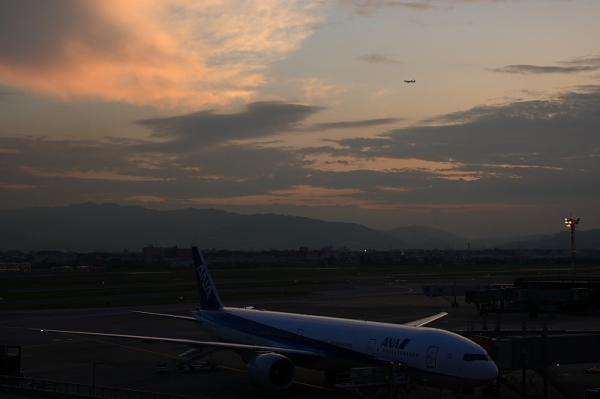 ANA B777-381ER NH2179 After BlokIn@ラ・ソーラ(by KDX with SIGMA 18-50)