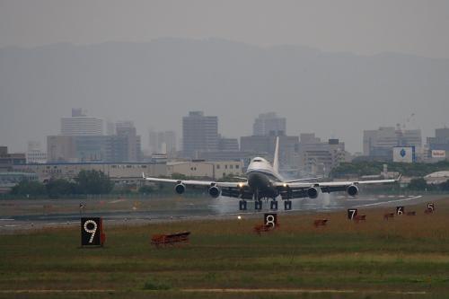 CCA B747-4J6P@RWY14Rエンド(by EF100-400)No.2
