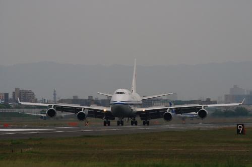 CCA B747-4J6P@RWY14Rエンド(by EF100-400)No.3