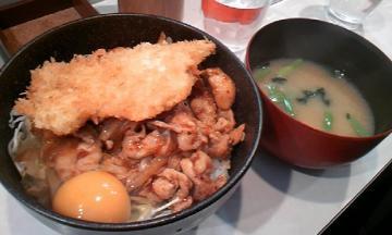 男の晩御飯②